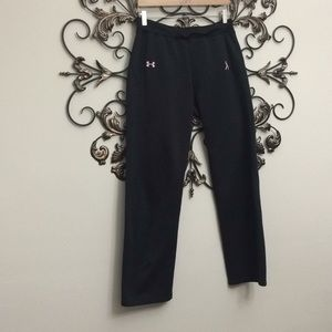 Under Armour breast cancer ribbon sweat pant med